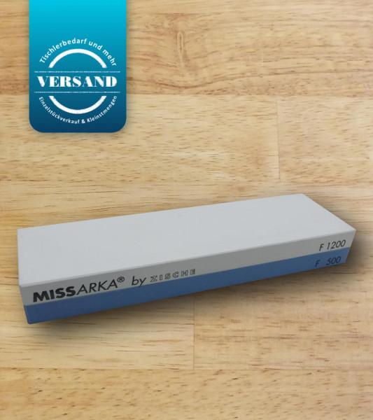 Zische Kombi Schleifstein Missarka Blue FEPA 500/1200 (JIS 1200/4000)