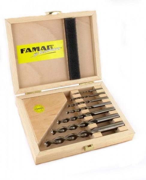 FAMAG Premium Holzspiralbohrer Satz, 7-teilig