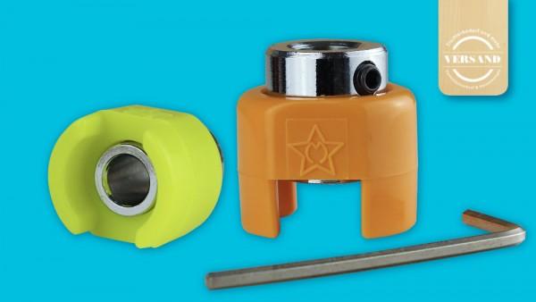 Beispiele für Fisch® Tiefenstopp für Bohrer mit Innensechskantschlüssel