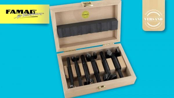 6teiliges Set Forstnerbohrer Bormax 2.0 WS